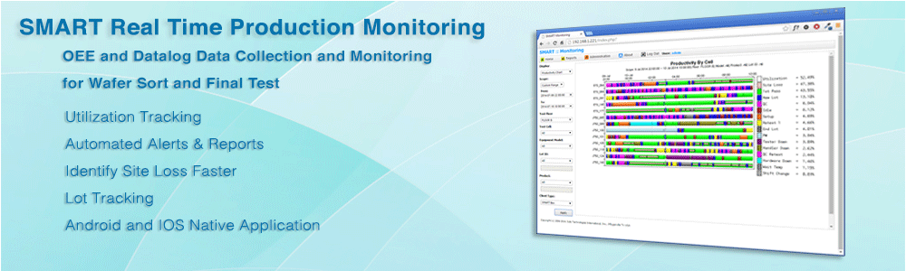 SotoTech SMART Real Time OEE and Datalog Monitoring